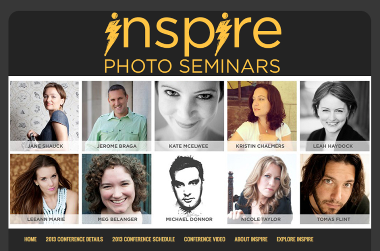Inspire Photo Seminar