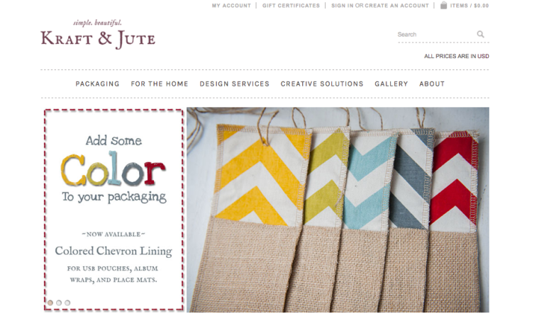 Kraft & Jute offers even more great packaging products!