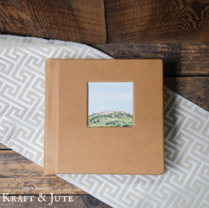 Kraft & Jute Linen Album Wrap_1