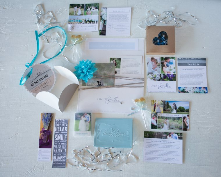 Lynette Smith Photography Packaging- Presentation Box, Presentation Packet, Printed Materials, Candy