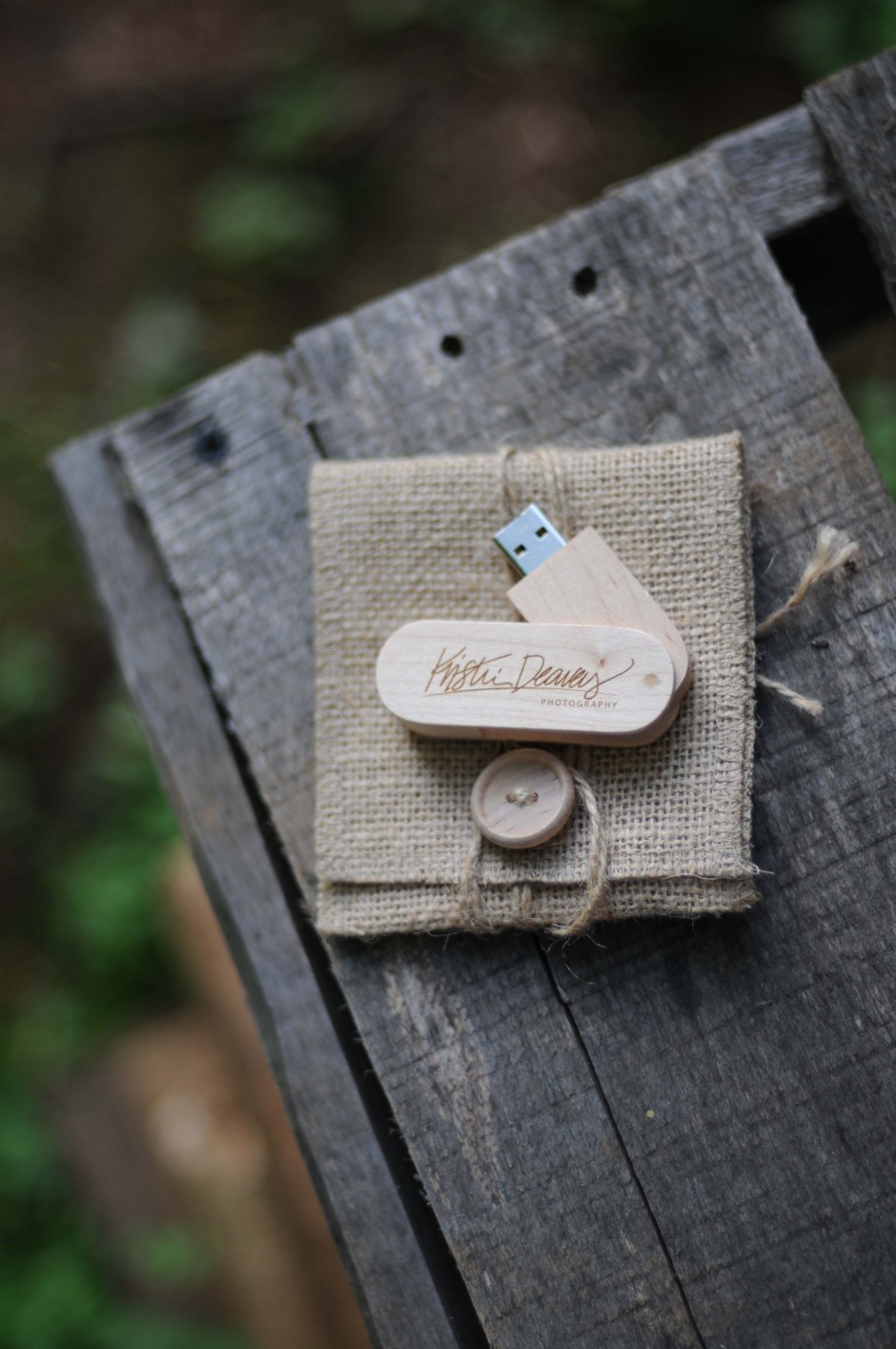USB Packaging from Kraft & Jute